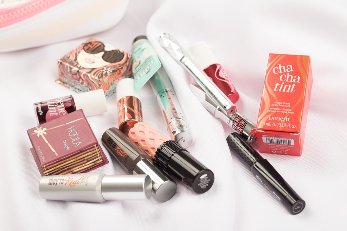 ulubieńcy: miniatury Benefit Cosmetics