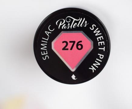 Semilac Pastells 276 Sweet Pink