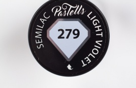 Semilac Pastells 279 Light Violet