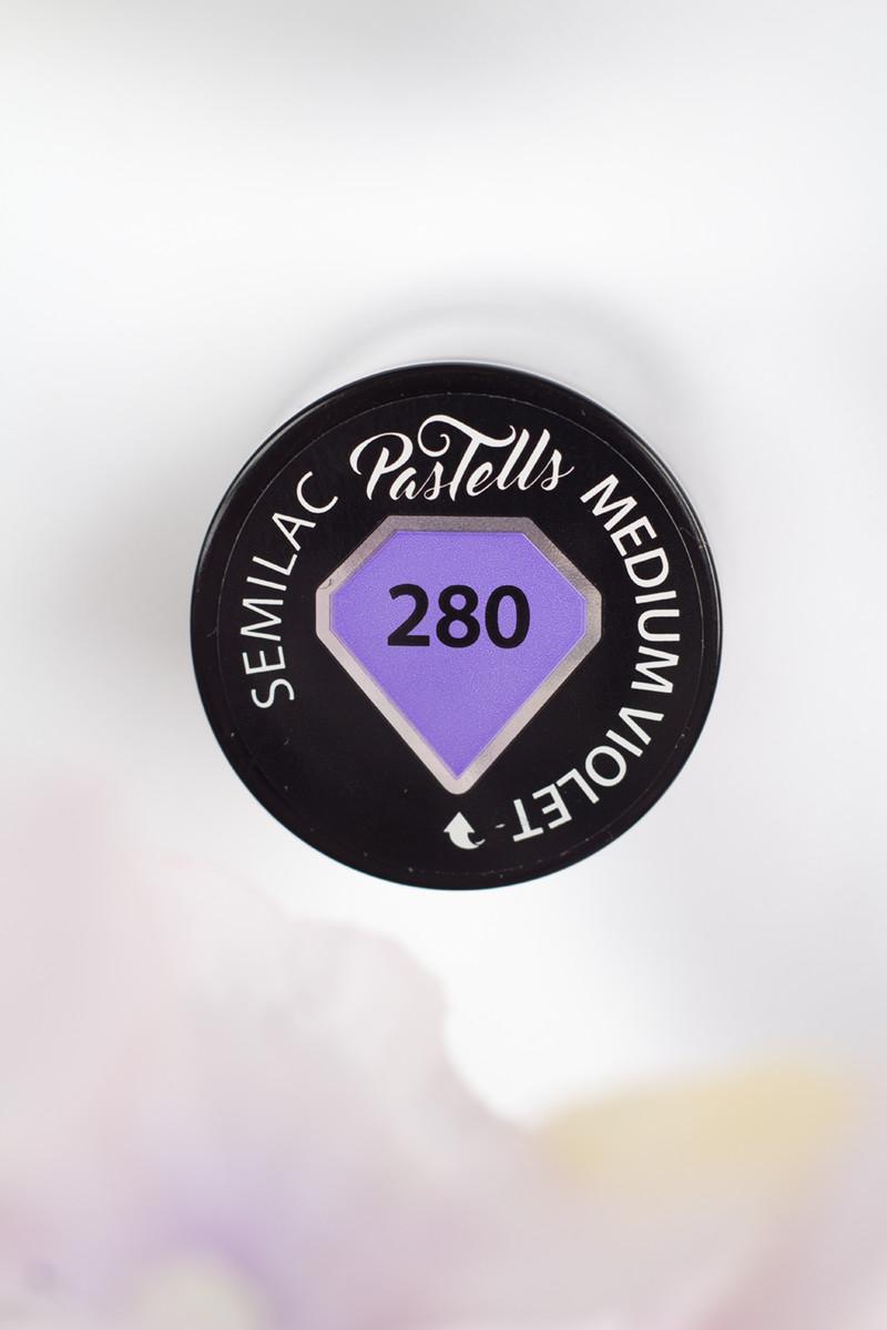 Semilac Pastells Medium Violet
