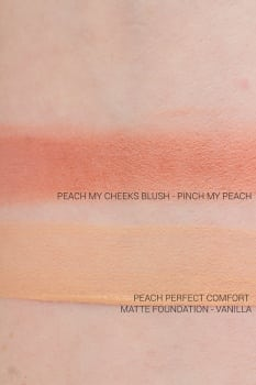 Too Faced Peaches and cream collection Peach my cheeks blush - Pinch my peach