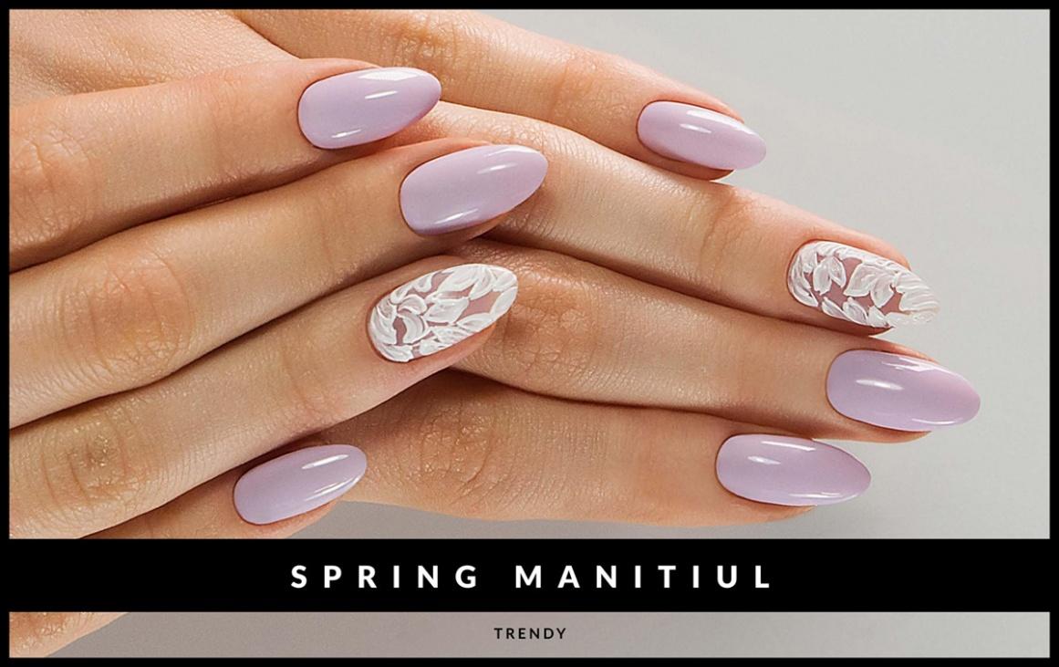 Manicure Trendy Wiosna 2016 Papillon Day Spa