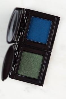 Semilac cienie rozświetlające 417 Sapphire, 419 Deep Green,