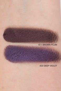Semilac cienie rozświetlające 411 Brown Plum, 420 Deep Violet