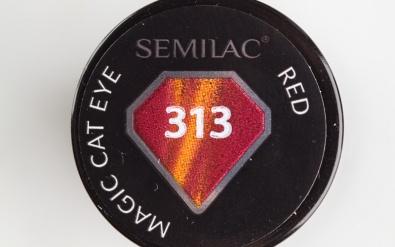 Semilac Magic Cat Eye Red