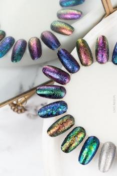 bubble nails,