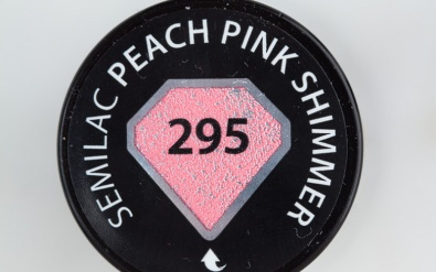 295 Peach Pink Shimmer