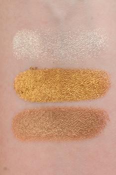 Natasha Denona Gold Palette swatches